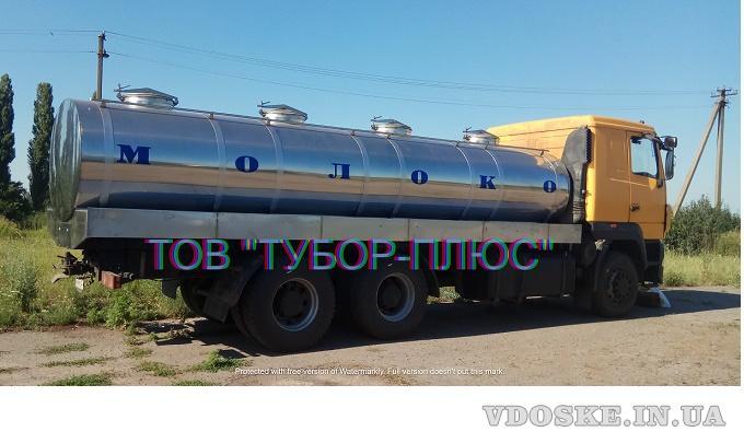 Виготовлення рибовозів, водовозів, молоковозів, а також інші автоцистерни. Асенізаторні машини. (2)