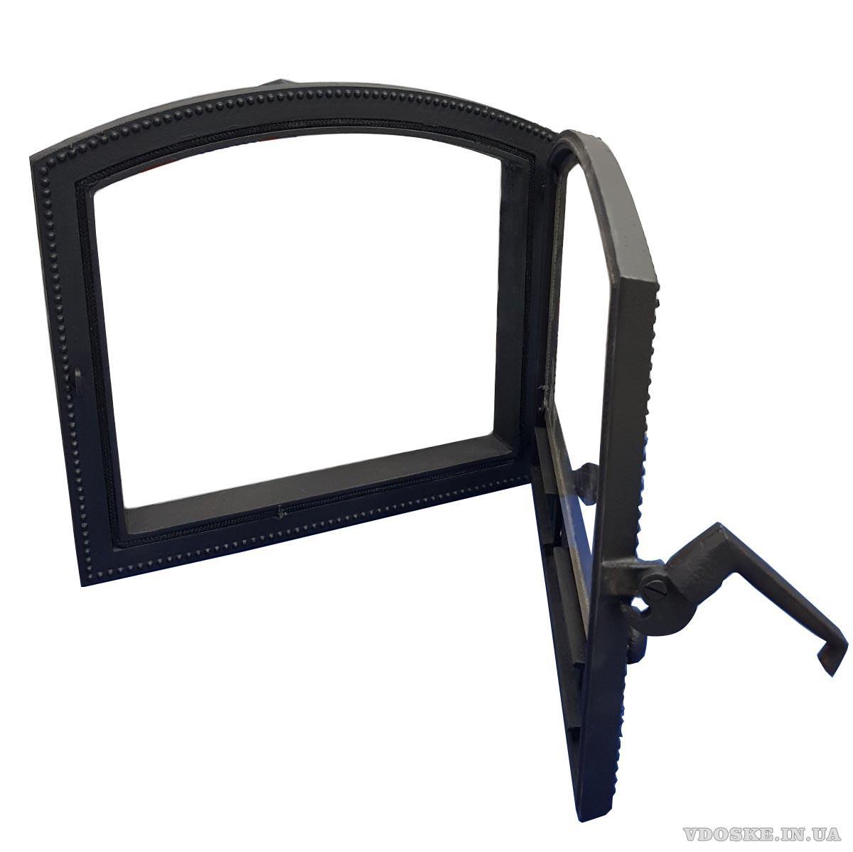 Арочная дверка для камина чугунная VK13 (2)