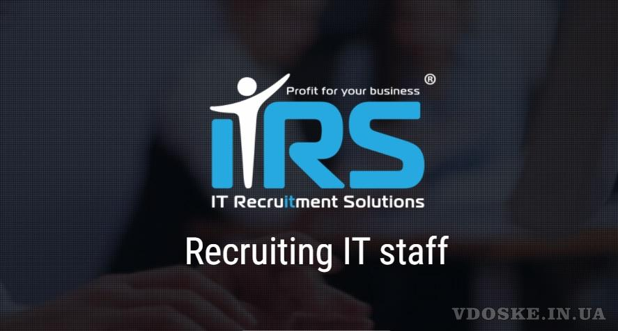 Search and selection of IT personnel. IT Recruiting. (2)