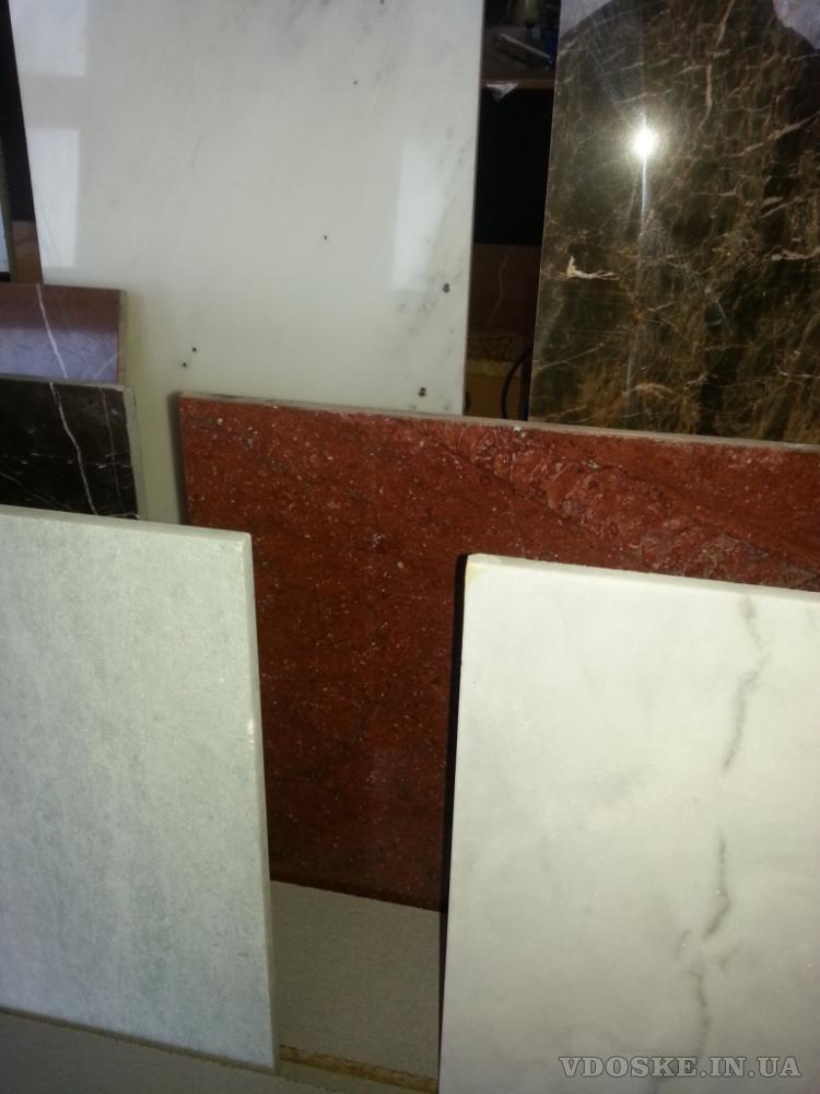 Зеркальный блеск мраморной поверхности, единственные узоры, от природы (2)
