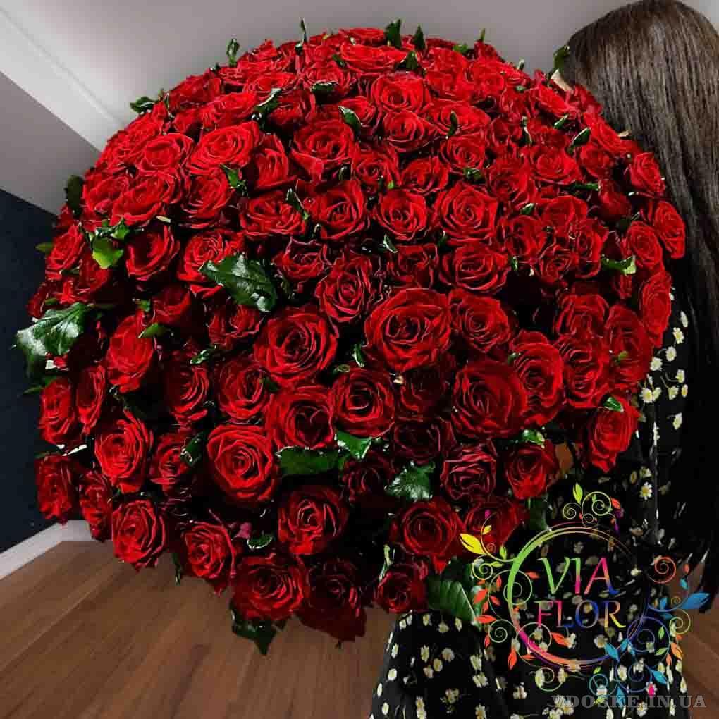 Лучший выбор букетов 101 роза в Харькове (2)