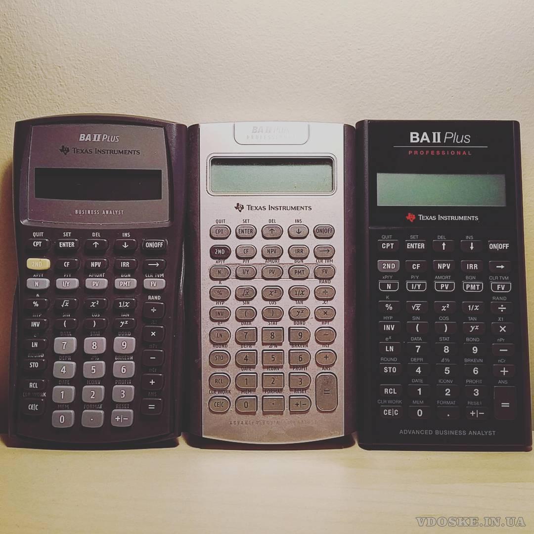Калькулятор Texas Instruments BA II Plus Professional (2)