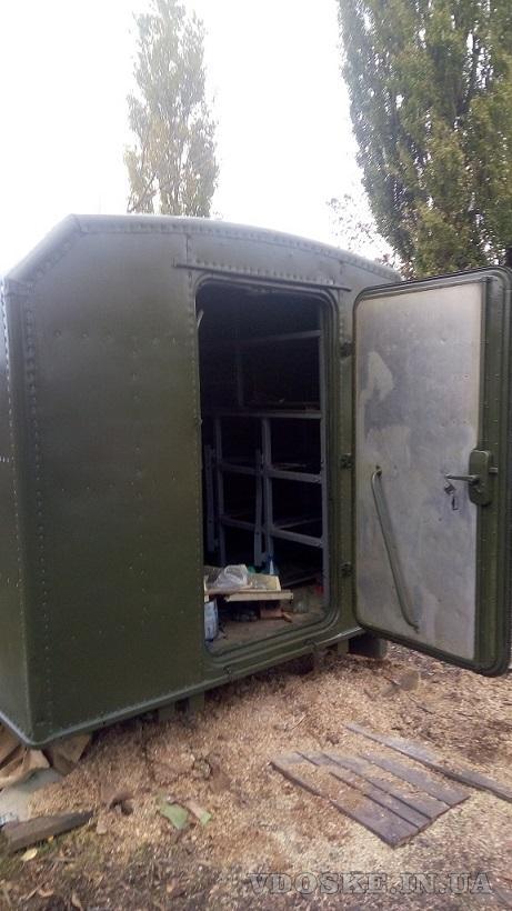 Кунг демонтируемый с автомобиля ГАЗ-66,  полностью оцинкован внутри (3)