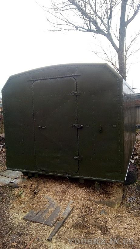 Кунг демонтируемый с автомобиля ГАЗ-66,  полностью оцинкован внутри (2)