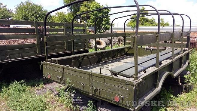 Кузов демонтированный с автомобиля ГАЗ-66, металлический (2)
