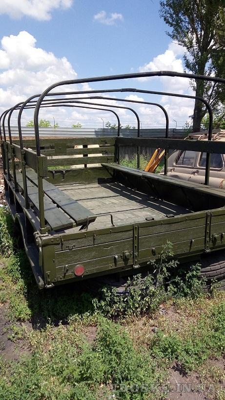 Кузов демонтированный с автомобиля ГАЗ-66, металлический (3)