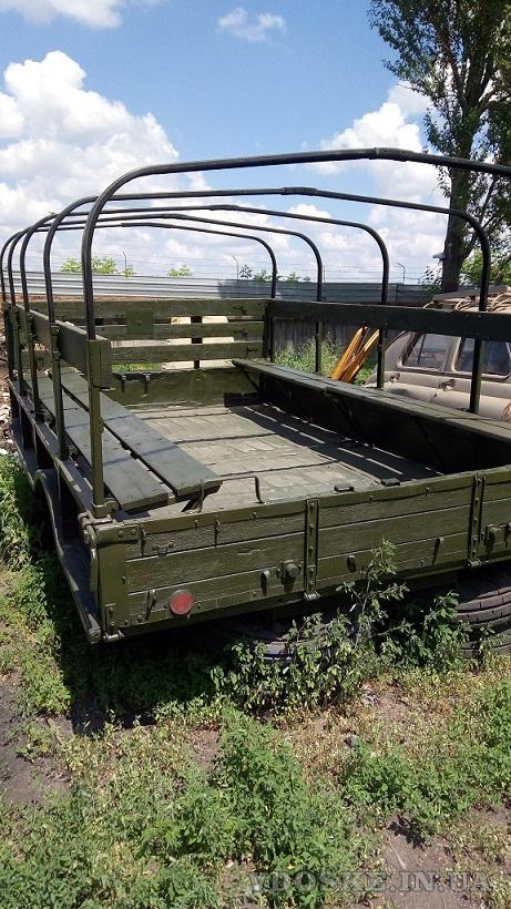 Кузов демонтированный с автомобиля ГАЗ-66, металлический (4)