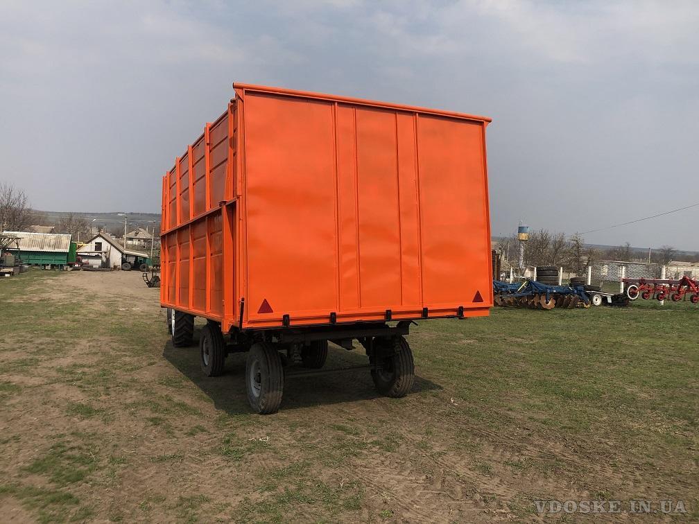 Прицеп тракторный 2ПТС- 4 самосвальный (2)