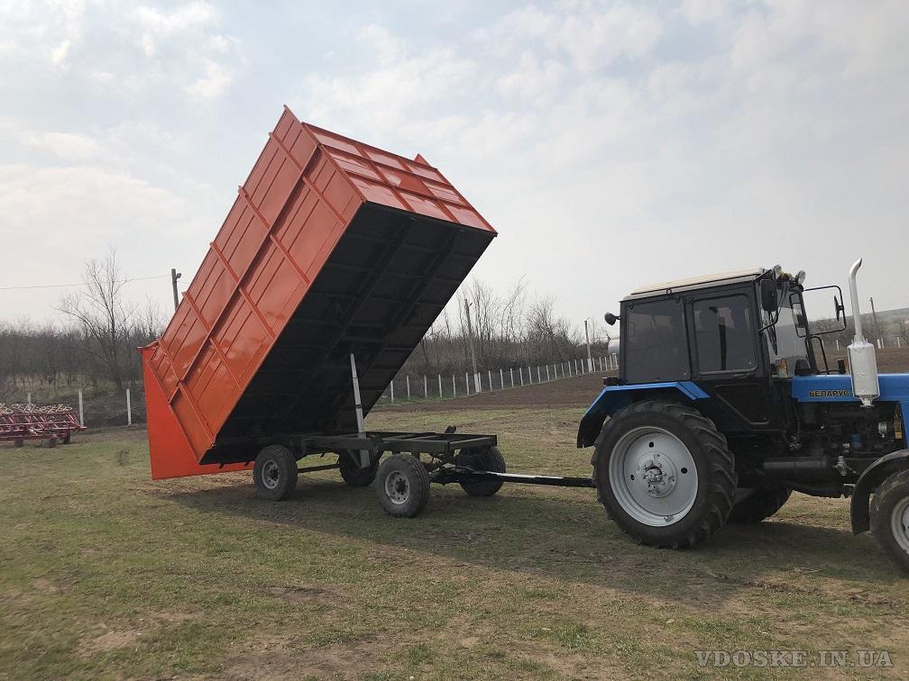 Прицеп тракторный 2ПТС- 4 самосвальный (5)