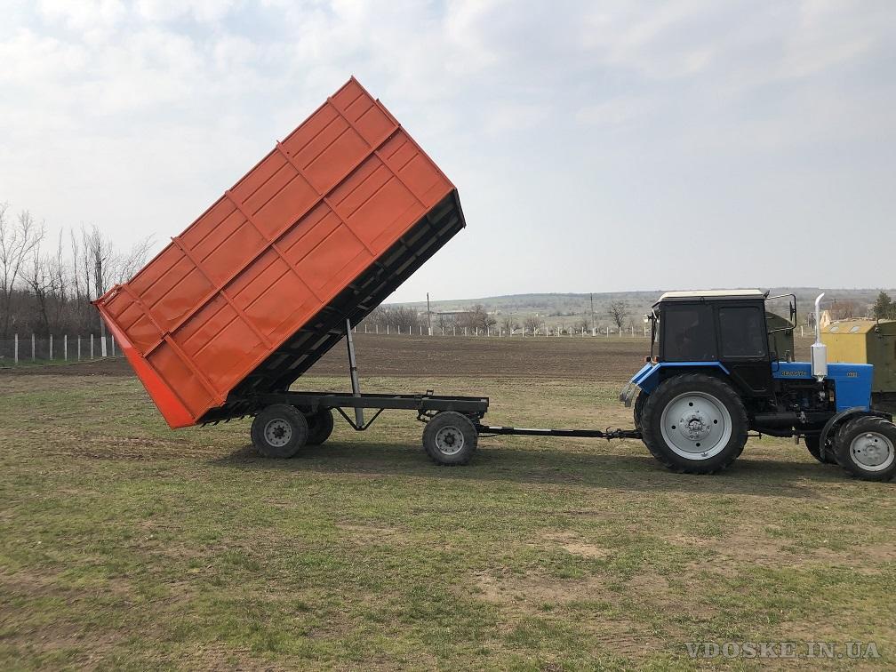 Прицеп тракторный 2ПТС- 4 самосвальный (6)