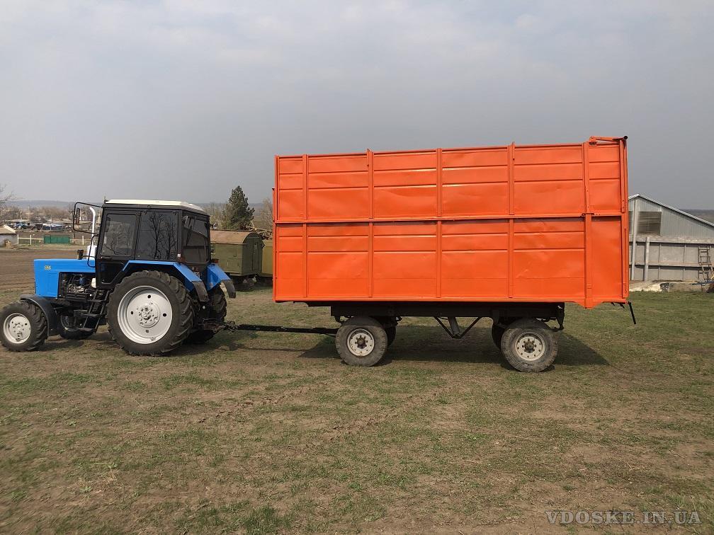 Прицеп тракторный 2ПТС- 4 самосвальный (3)