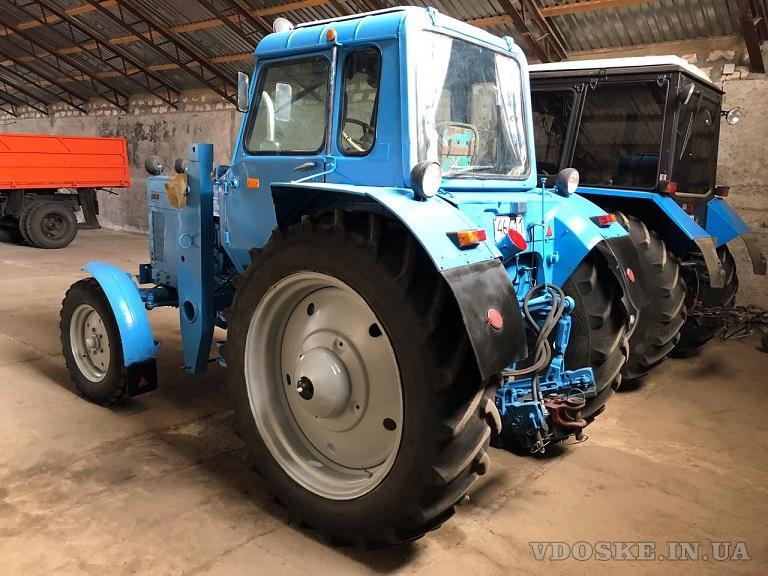 Трактор МТЗ-80, малая наработка (4)
