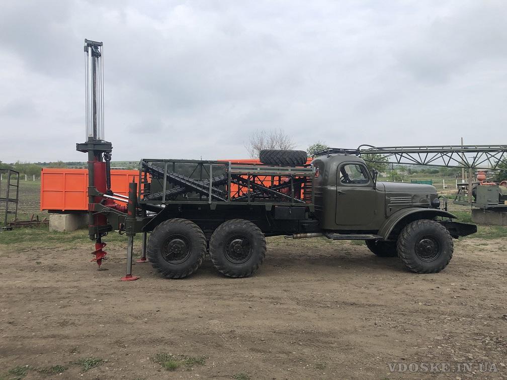 Буровая установка БГМ 1 на базе Зила 157 с конверсии малая наработка в отличном  состоянии (3)