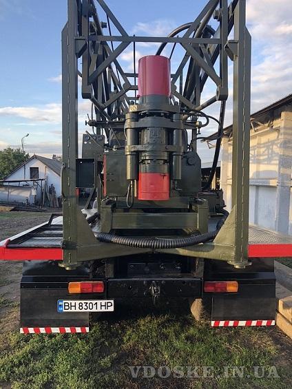 Буровая установка УКБ-500 на базе Маза 500 (2)