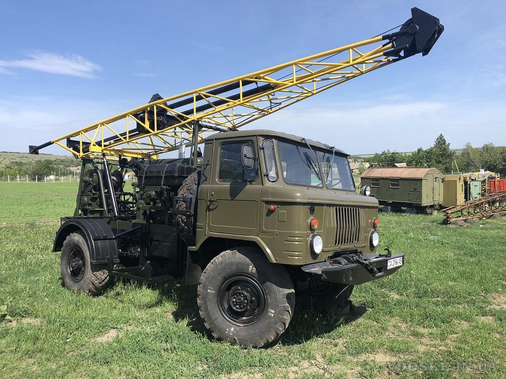 Буровая установка УГБ 50 на базе  Газ 66 (5)