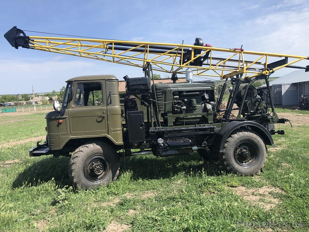 Буровая установка УГБ 50 на базе  Газ 66 (3)