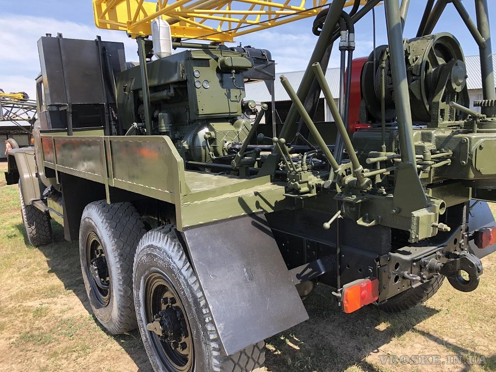 Буровая установка УГБ -1 ВС на базе Зил 131 (3)