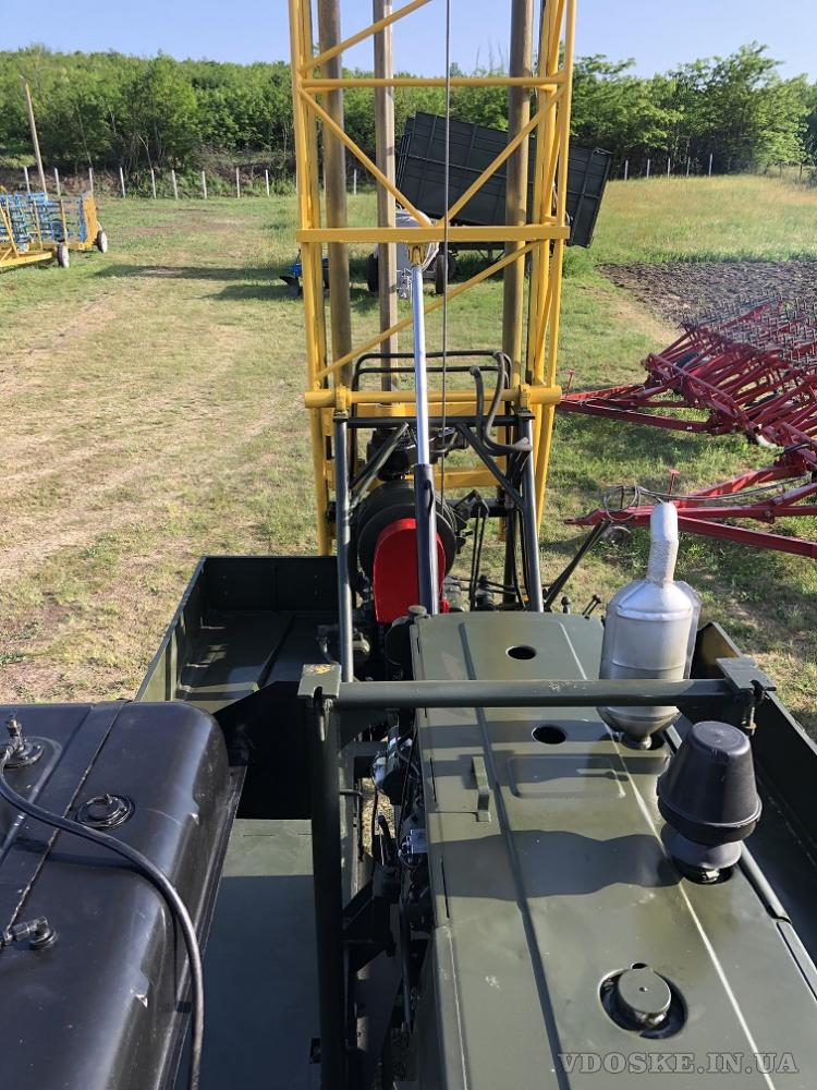 Буровая установка УГБ -1 ВС на базе Зил 131 (5)