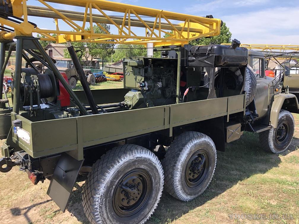 Буровая установка УГБ -1 ВС на базе Зил 131 (4)