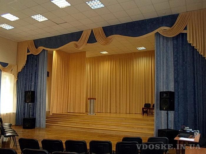 Оформление интерьера театров, кинозалов, актовых залов. (3)