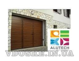 Гаражные Секционные ворота Алютех от 13 850 грн /монтаж, ремонт (5)