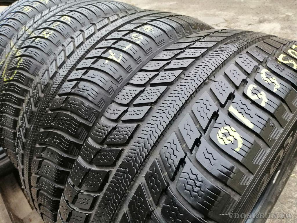 Michelin Primacy Alpin 205/55R16 шины бу зима 195/215/225/235/55/60/65/70 (2)