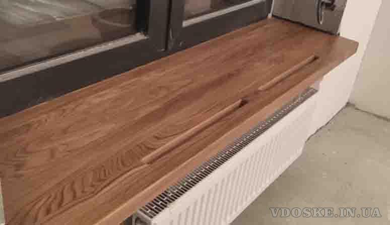 Подоконник из дерева KitchenWood (4)