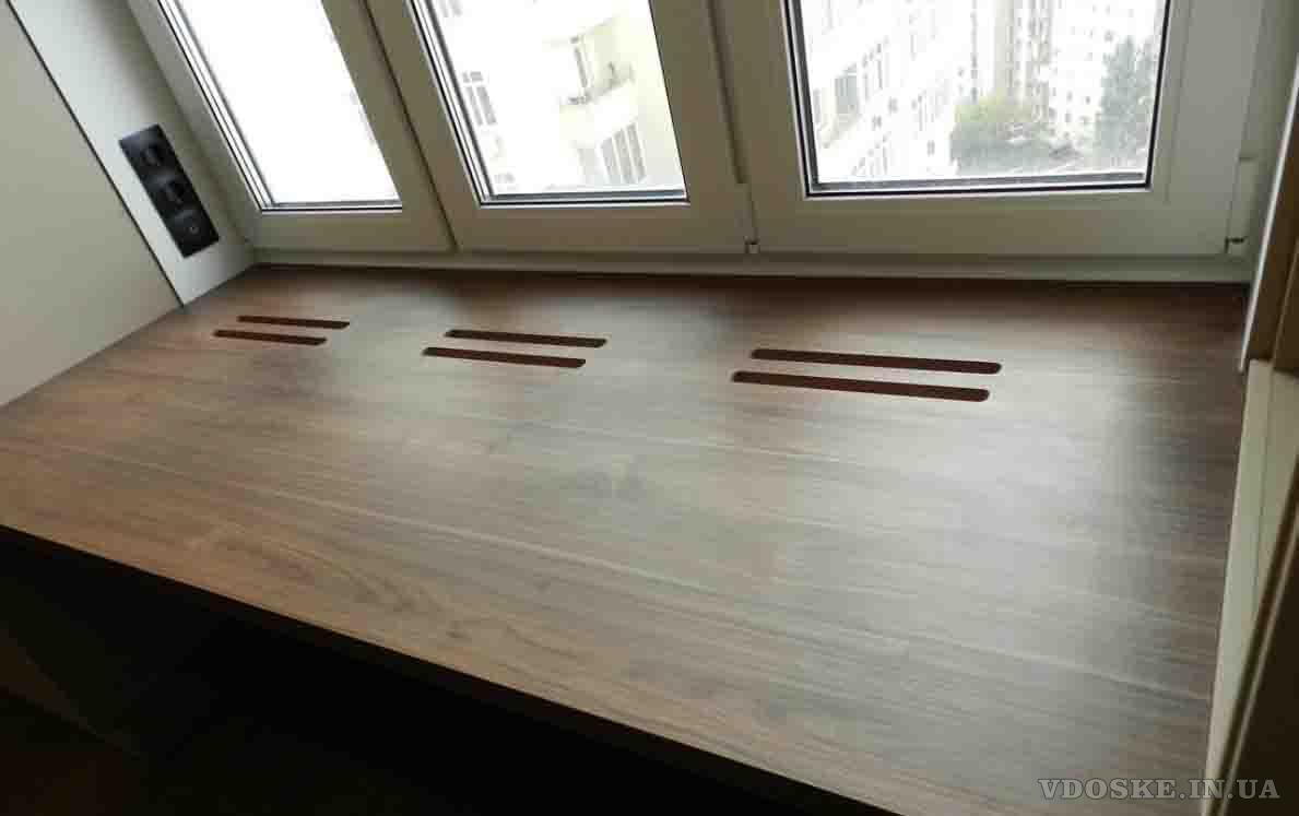 Подоконник из дерева KitchenWood (2)