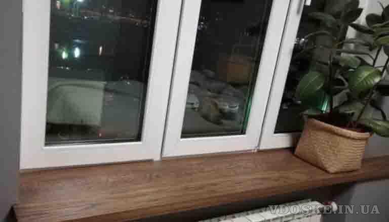 Подоконник из дерева KitchenWood (3)