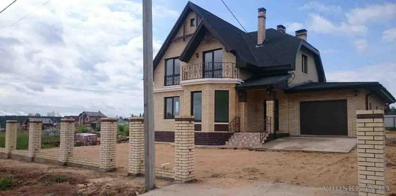 Строительство домов под чистовую отделку, под ключ, постройка коробки коттеджа (3)