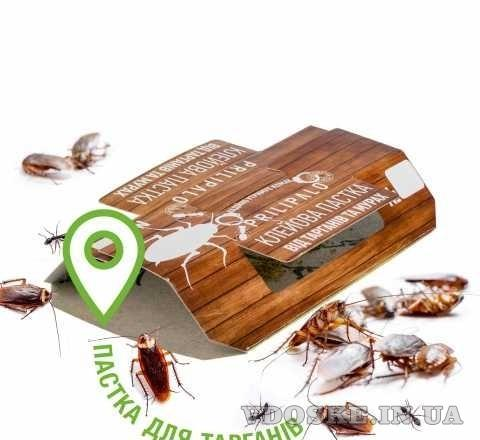 """Средство от тараканов """"Клеевая ловушка """"PRILIPALO"""" (2)"""