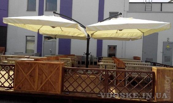 Зонты для кафе Киев (3)