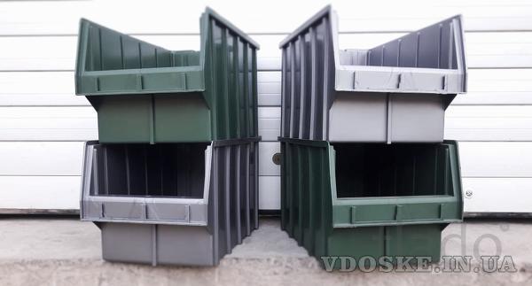 Стелажі для метизів Луцьк металеві складські стелажі з ящиками (2)