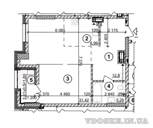 Выгодное предложение.Продажа1-комнатнойквартирыЖК Crystal Park (2)