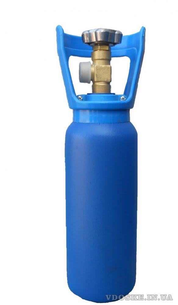 Новый баллон под кислород, углекислоту, аргон, азот, микс (2)