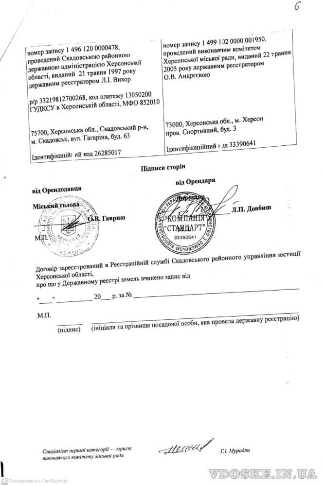 Продажа территории 2500 соток, Скадовск, Херсонская обл. (6)