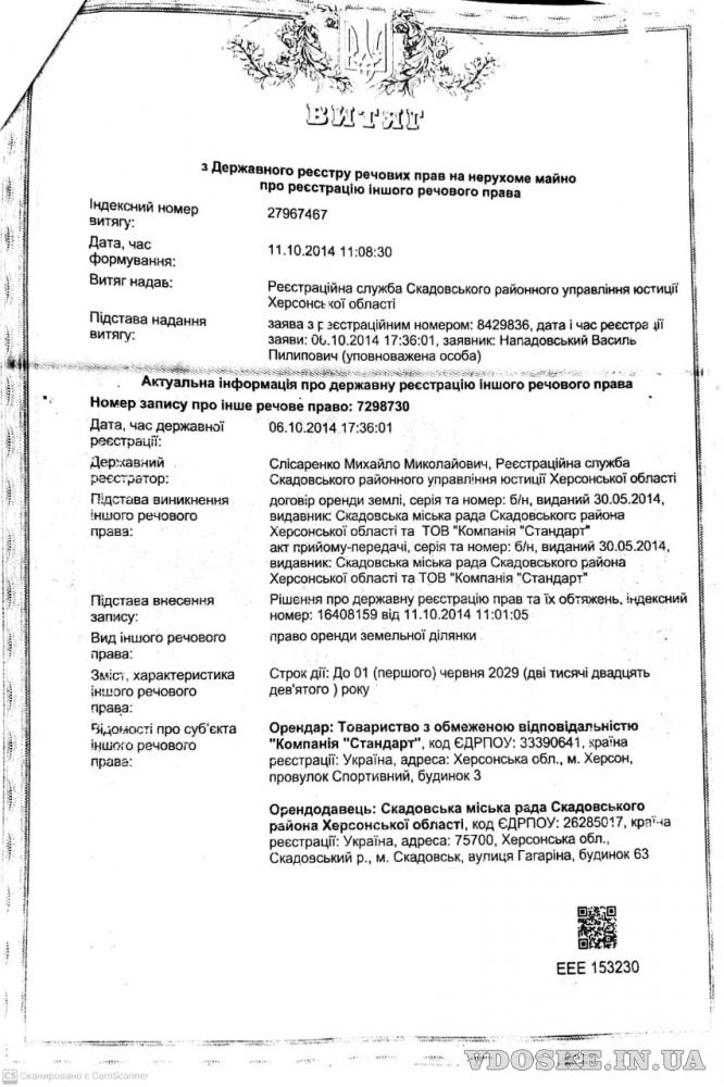 Продажа территории 2500 соток, Скадовск, Херсонская обл. (2)