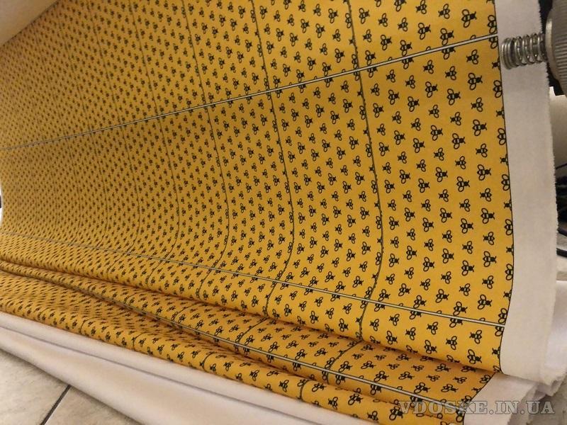 Нанесение узоров и рисунков на ткань методом сублимации красителя (2)