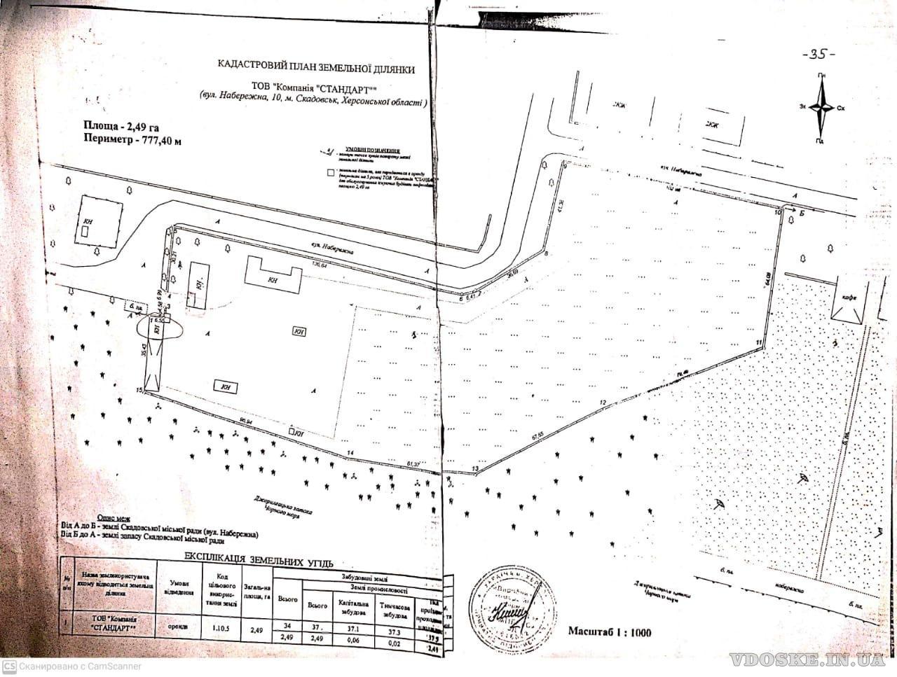 Территория 2,5 гектара, Скадовск, Херсонская обл. Продам (2)