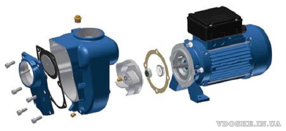 Насос для перекачки дизельного топлива 500л./мин. 1 тонна - 2мин. (3)