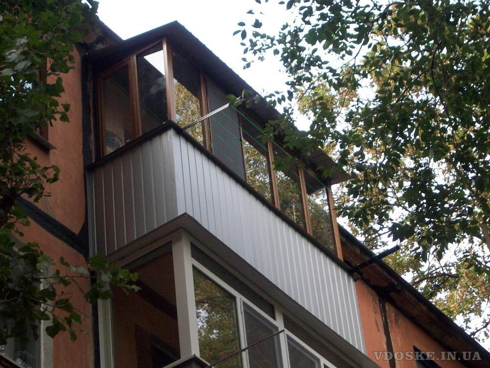 Балконы под ключ. Кривой Рог. (6)