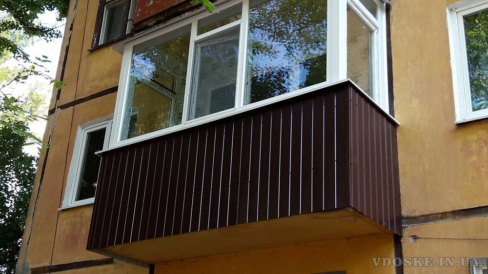Балконы под ключ. Кривой Рог. (3)
