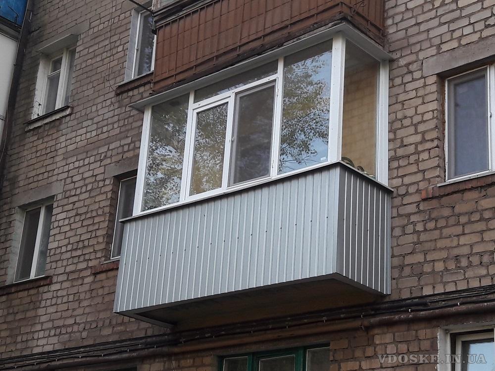 Балконы под ключ. Кривой Рог. (5)