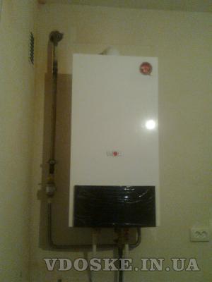 #Отопление установка котлов радиаторов,монтаж полов. (2)