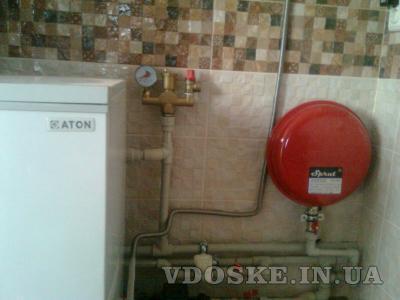 #Отопление установка котлов радиаторов,монтаж полов. (3)