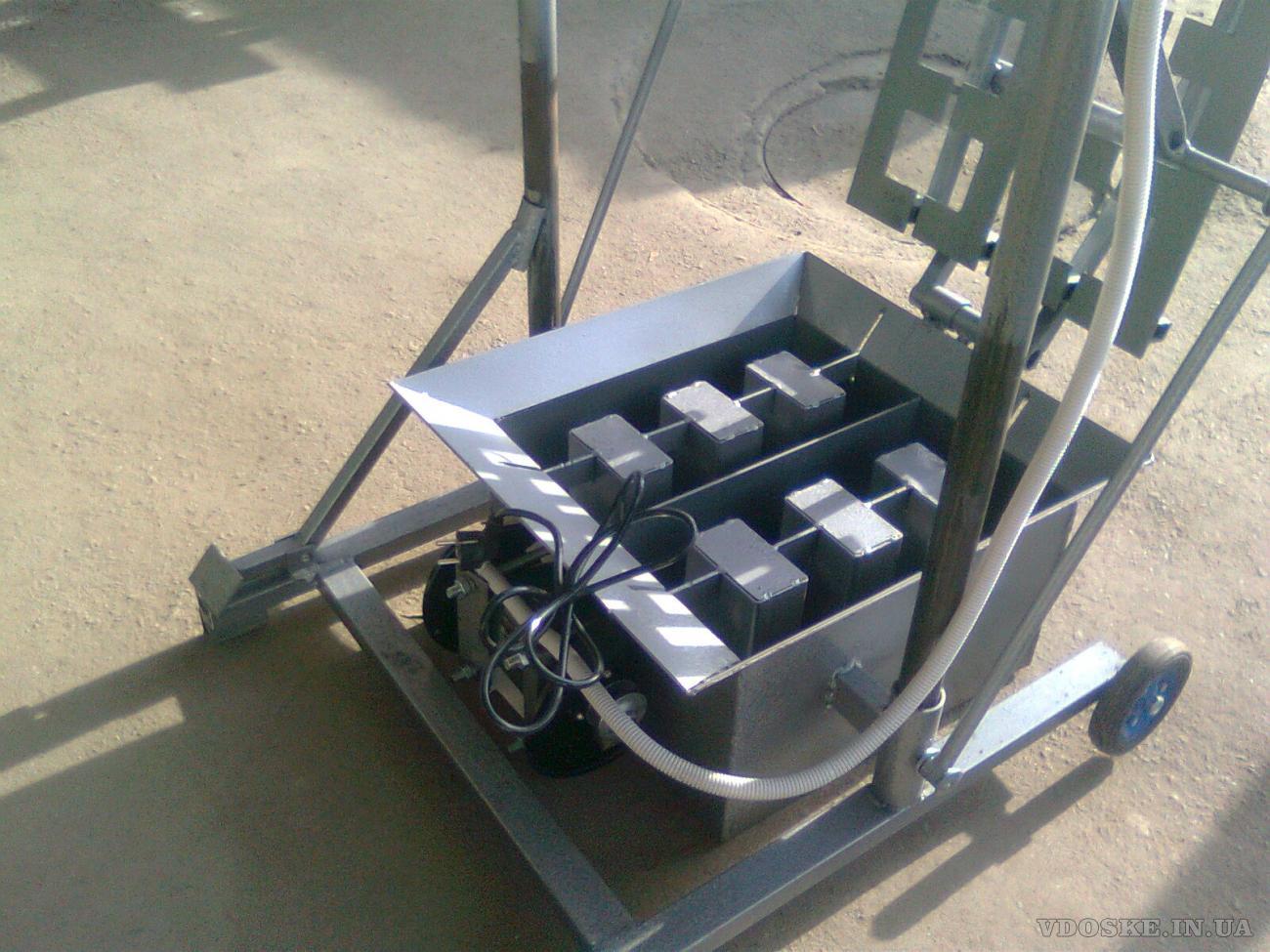 #Вибростанок «НВС-2» для производства стеновых блоков (4)