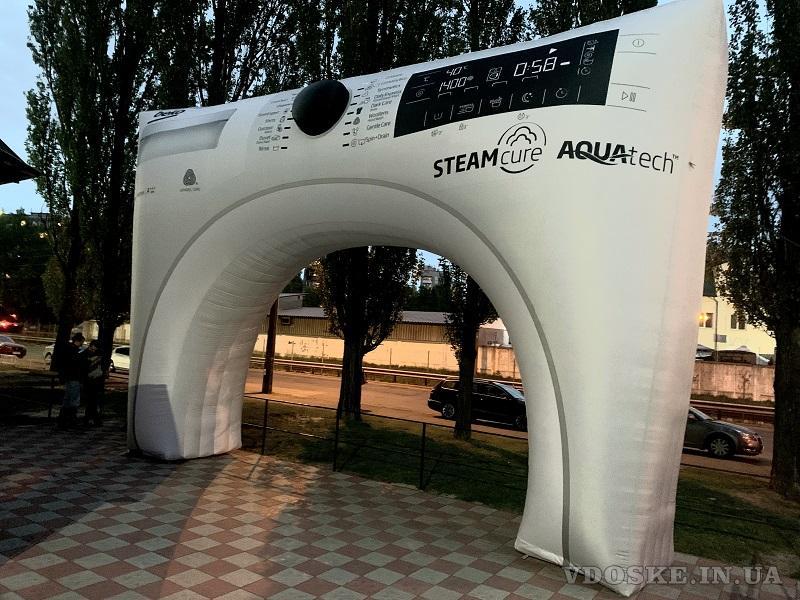 Надувные арки для мероприятий с сублимационной печатью (3)