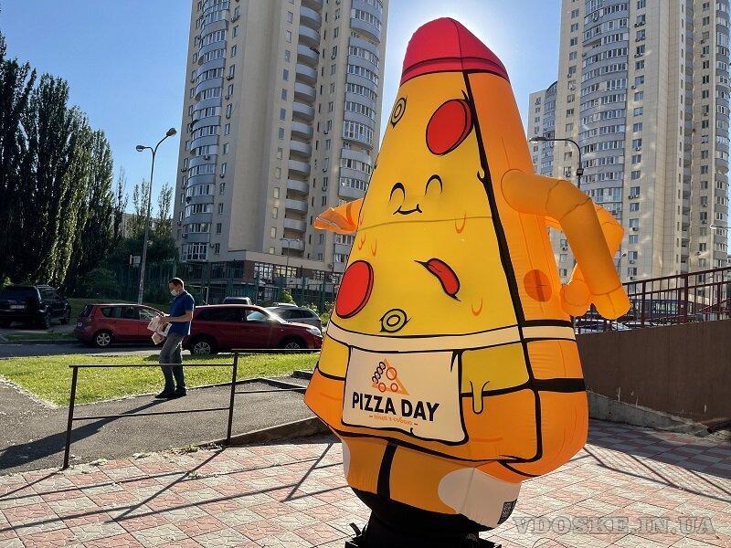 Надувная реклама пицца (2)