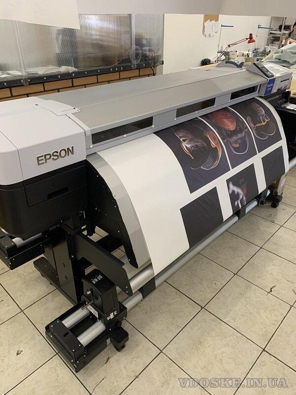 Печать рулонная Сублимация Синтетические ткани (6)