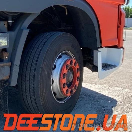 КУПИТЬ грузовые шины 295/80R22.5 DEESTONE SV403 154/149L 16PR (Таиланд) универсальная / рулевая (3)